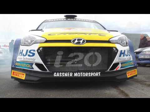 Gassner Motorsport Hyundai i20 - R5 Rallye Oberland 2016 - 2017 World Rally Car