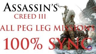 [HD] AC3 - All peg leg missions and uniform 100% sync