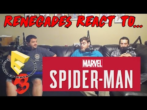 Renegades React to... Marvel's SpiderMan E3 2017 PS4 Gameplay