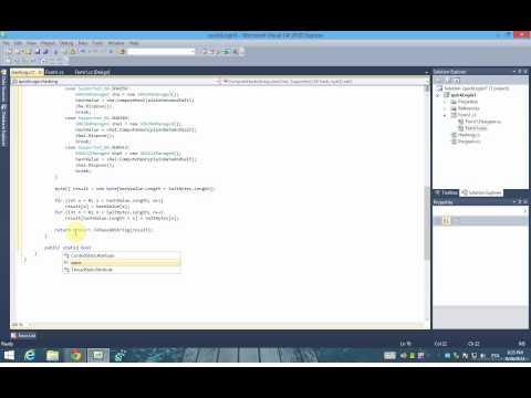 C# Hashing with salt using SHA-256, SHA-384, SHA-512