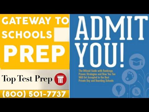 Gateway to Prep Schools:  Application Guide & Tips - TopTestPrep.com
