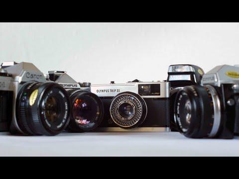 My Five Best Auto Exposure Film Cameras
