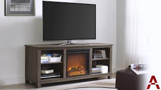 Edgewood TV Console with Fireplace