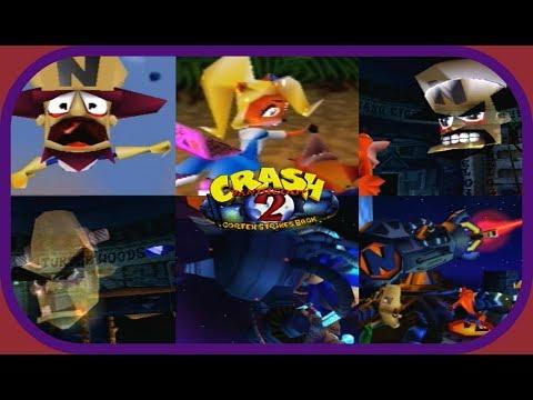 Crash Bandicoot 2: Cortex Strikes Back: All Cutscenes