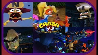 Crash Bandicoot 2: Cortex Strikes Back: All Cutscenes