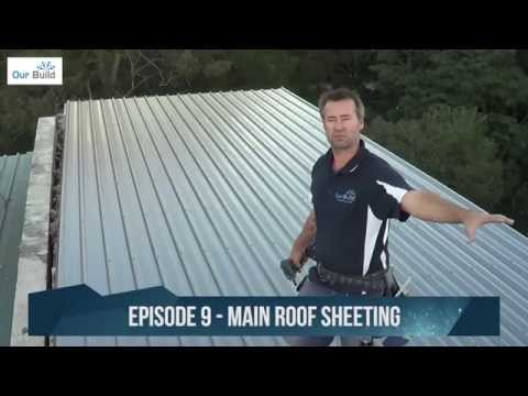 Episode 9 - Roof sheeting and gutters - Small Space Big Build Project - #SSBBproject