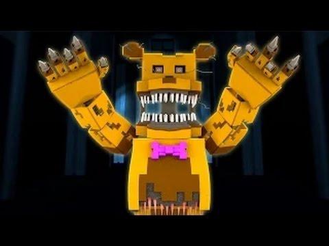 Samgladiator |  Five Nights at Freddy's Nightmare - Night 7 (Minecraft Roleplay)