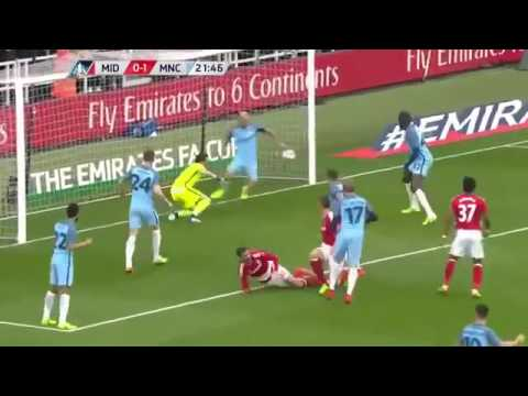 Download Middlesbrough vs Manchester City 0-2 All Goals  Highlights 11_03_2017_