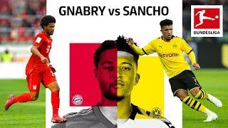 Serge Gnabry vs Jadon Sancho - Two Wing Wizards Go Head-to-Head