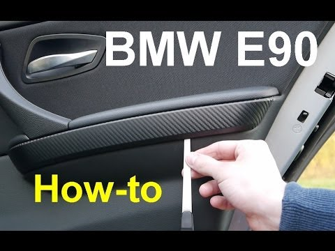 bmw e90 zierleisten abbauen anleitung full hd youtube. Black Bedroom Furniture Sets. Home Design Ideas