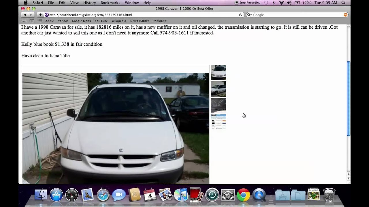 Craigslist South Bend Indiana Used Cars And Trucks For Sale By Owner 2012 Options Youtube