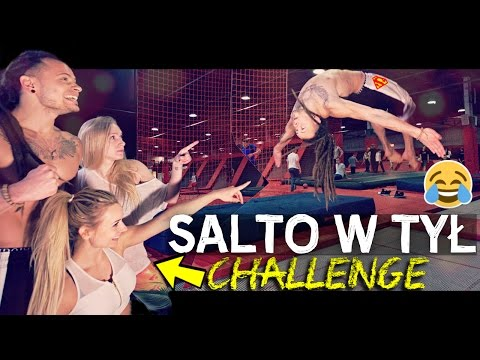 PARK TRAMPOLIN ★ SALTO vs DZIEWCZYNY #CHALLENGE ! | Fit Lovers