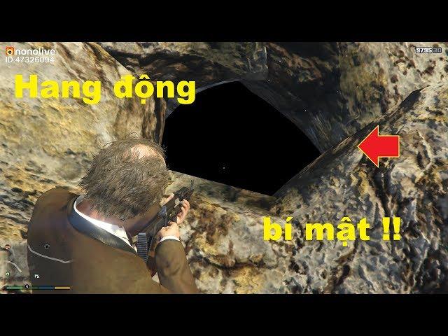 GTA 5 Mod - Hang Động Bí Mật Trên Xưởng Gỗ (Secret Cave In GTA V)