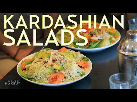 The Kardashians Eat These Salads on Their Show | The SASS with Susan and Sharzad