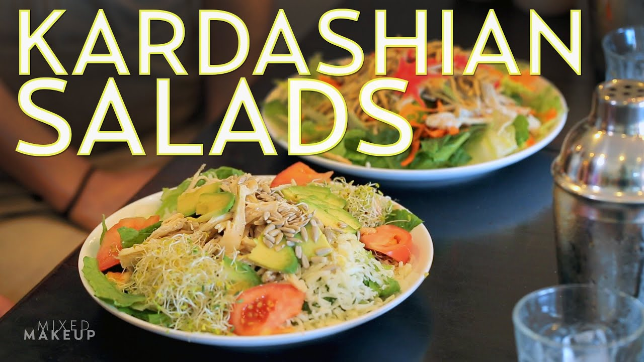 The Kardashians Eat These Salads on Their Show | The SASS with Susan ...