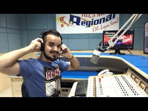 ABERTURA DE PROGRAMA DE RÁDIO - Locutor Matheus Augusto
