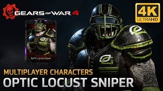 Gears of War 4 - Multiplayer Characters: OpTic Locust Sniper