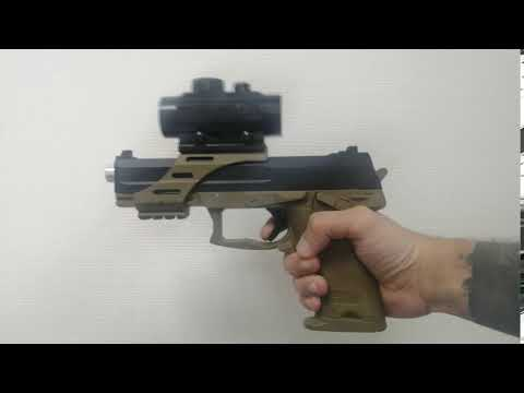Детский пистолет HK USP на гелевых пулях на аккумуляторе
