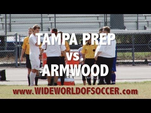 Wide World of Soccer: 2013.11.09 Wharton Tournament - Tampa Prep vs Armwood