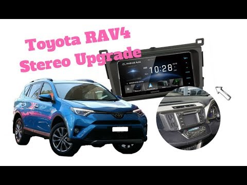 how to install radio in toyota rav4 stereo replacement 2013 to 2018