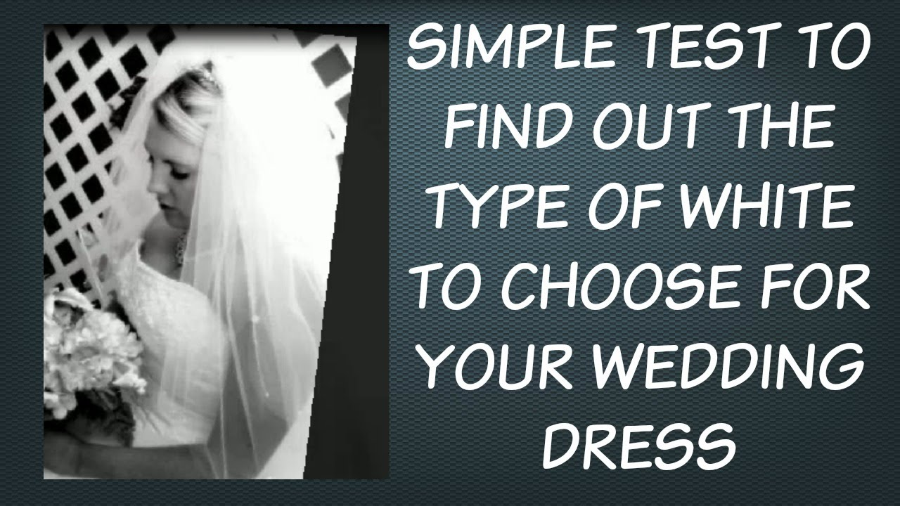 Wedding Dress Color: How To Use Color Analysis To Choose