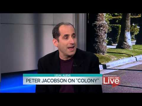 "Peter Jacobson on ""Colony"""