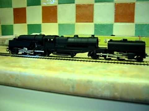 OO scale Garratt railway loco build WIP