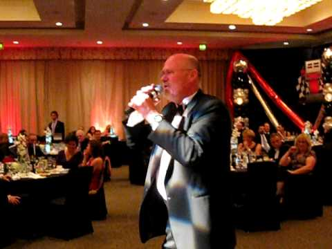 Auctioneer John Kunkle at the Long Beach Grand Prix Charity Ball