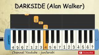 Gambar cover darkside not pianika - alan walker pubg - tutorial belajar pianika