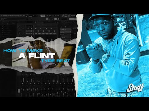 HOW To Make Flint Type Beats In 10 Mins ! | Flint + Detroit Type Beat Tutorial