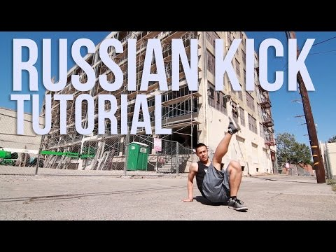 How To Russian Kick / Squat Kick/ Kazotsky Kick | Footwork 101