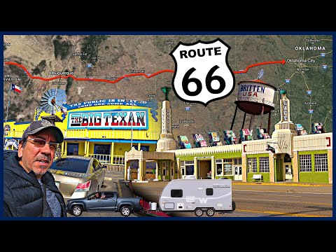 Driving To The East: Route 66 In New Mexico, Texas, And Oklahoma