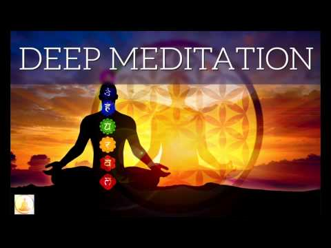 ⨀ 2 HOURS Ultra Deep Meditation: Binaural Theta + Delta Waves with relaxing water sounds
