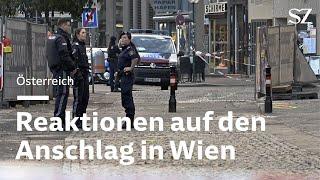 Österreich - Reaktionen auf den Anschlag in Wien