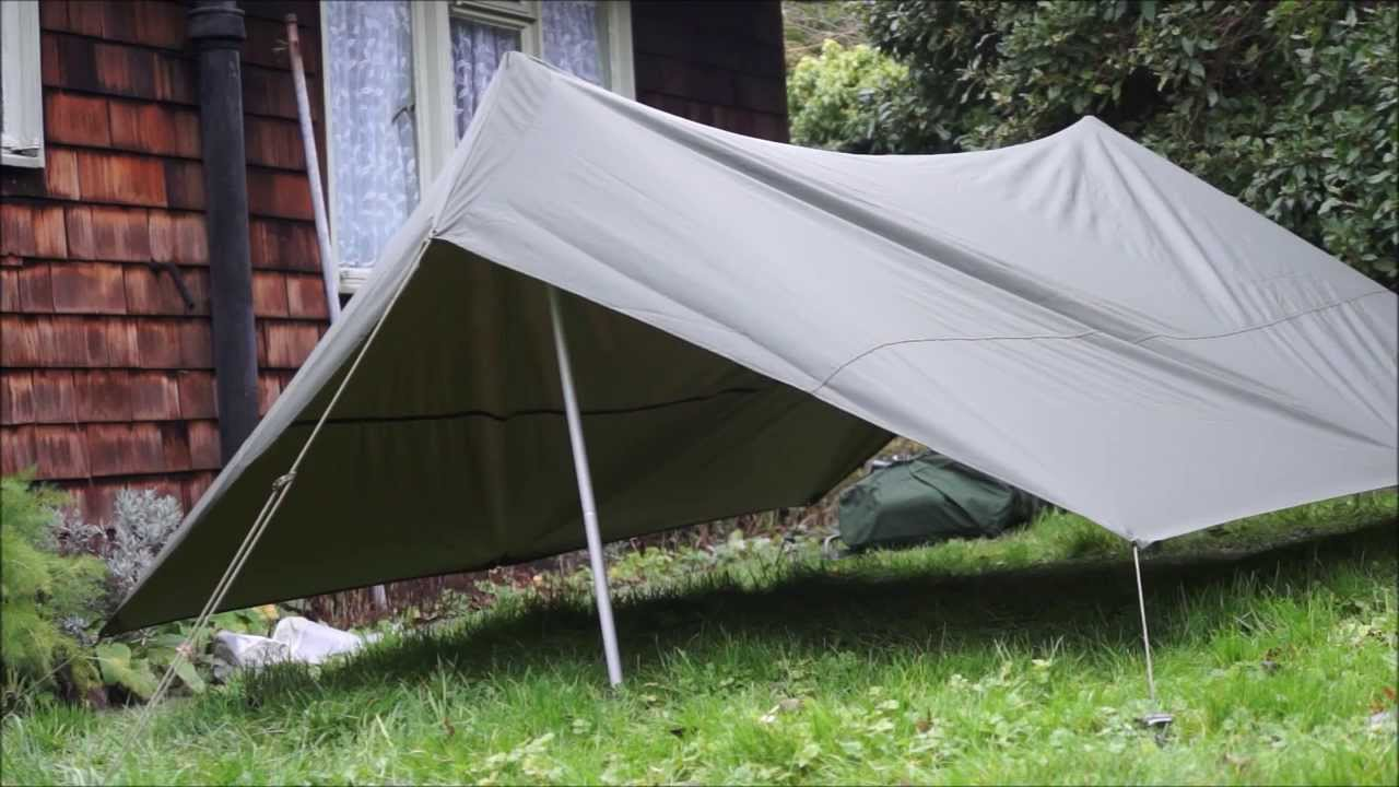& French Military F1 2 person Tent - YouTube