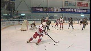 Дмитровская хоккейная команда «Golden Dogs»