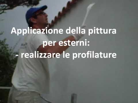 Imbianchino roma   pittura pareti esterne   youtube
