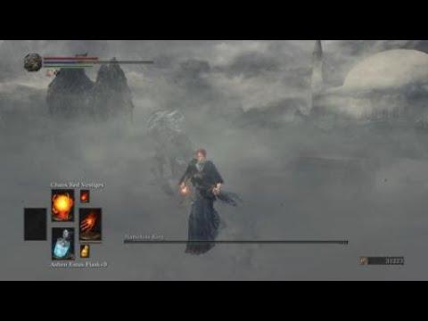 Dark Souls III NG - Pyro Girl vs Nameless King (no damage)