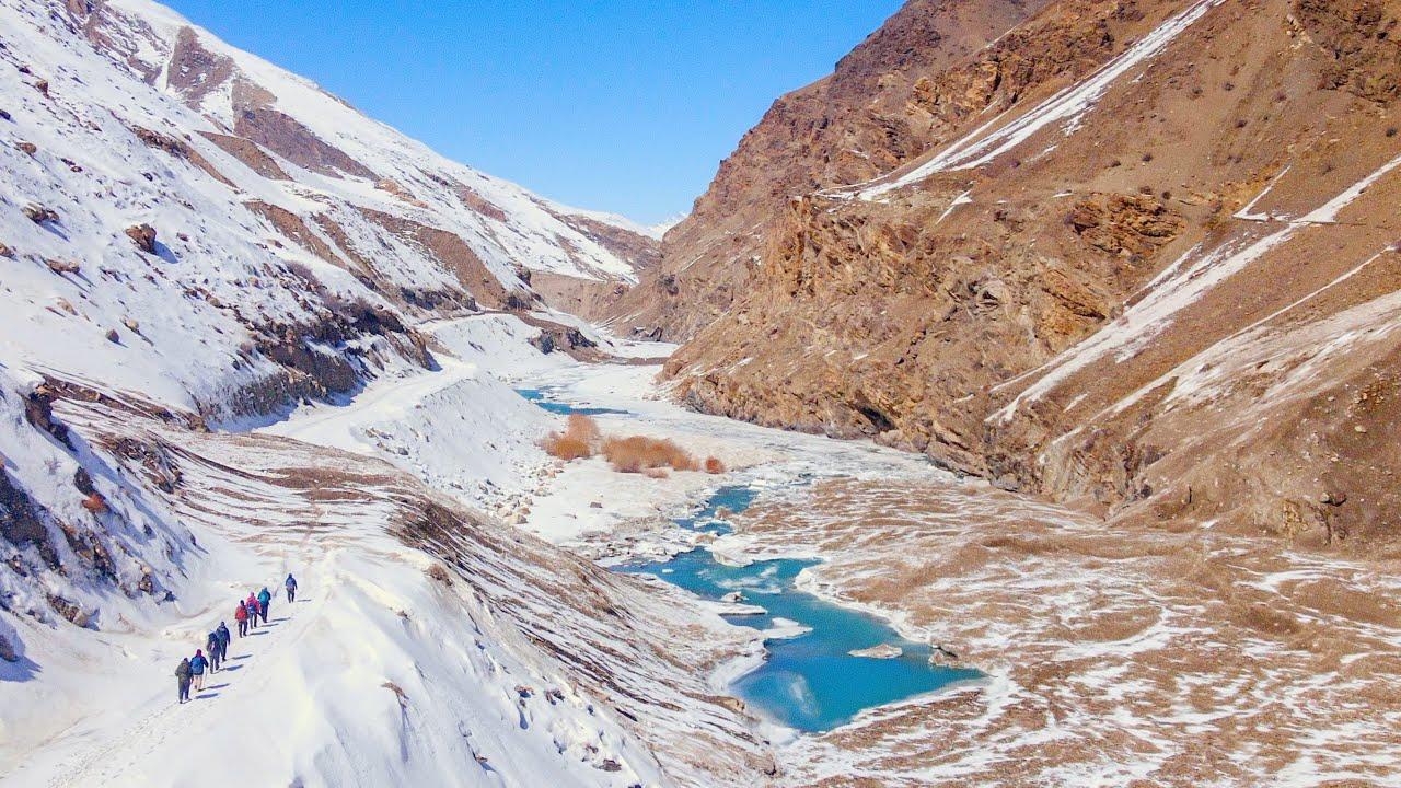 Leaving Avalanche prone Lungnak Valley | The Hardships of Winter Travel in Zanskar