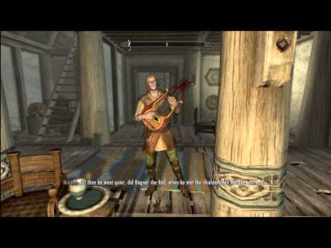 The Elder Scrolls V: Skyrim - Ragnar the Red. Song. HD