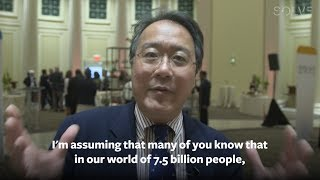 Interview with Yo-Yo Ma during Solve at MIT, May 8-10, 2017.