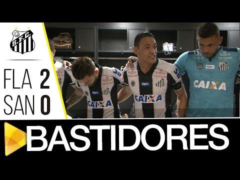 Flamengo 2 x 0 Santos | BASTIDORES | Brasileirão (27/11/16)