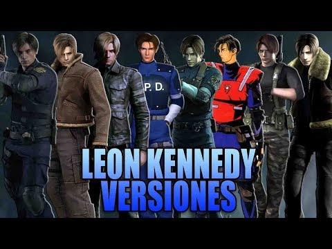 TODAS LAS VERSIONES DE LEON S. KENNEDY - MaxiLunaPMY