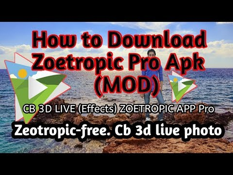 How to download zoetropic pro apk | How to hack zeotrapic