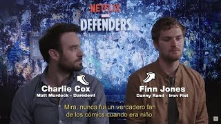 The Defenders: entrevista a Charlie Cox y Finn Jones