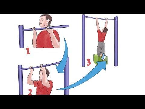 Как быстро научиться подтягиваться и увеличить свой результат. Конкретная программа и упражнения.