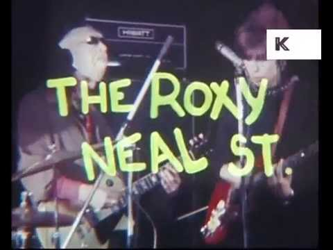 The Roxy 1977, Johnny Moped Perform, Punk