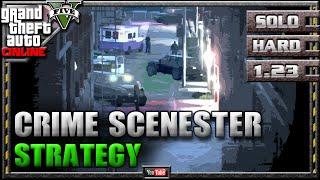 GTA 5 Online - Crime Scenester 1.23 - SOLO HARD - Mission Strategy Guide (GTA V) 1.22 1.08