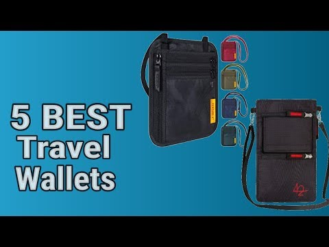 5 Best Travel Wallets