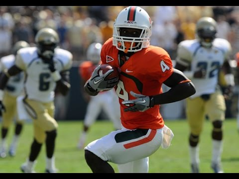Phillip Dorsett (Miami) vs. Georgia Tech (2014)